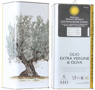 Olio extra vergine di oliva fruttato 5lt